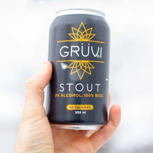 Grüvi, a leader in alcohol-free beer, announced its newest non-alcoholic brew — Grüvi Stout — a full-bodied alcohol-free beer perfect for cold winter days.