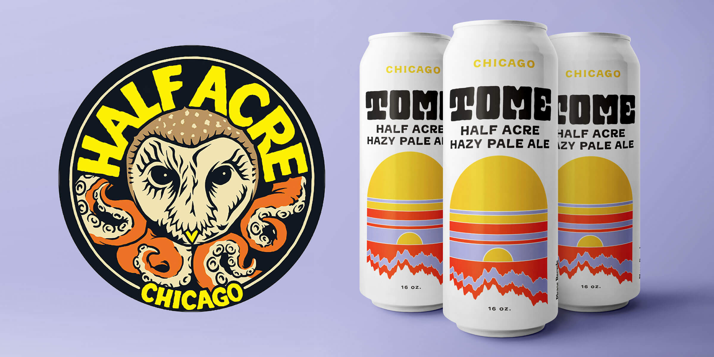 This March, Half Acre Beer Company will add a new beer to their year-round, full distribution footprint: TOME Hazy Pale Ale.