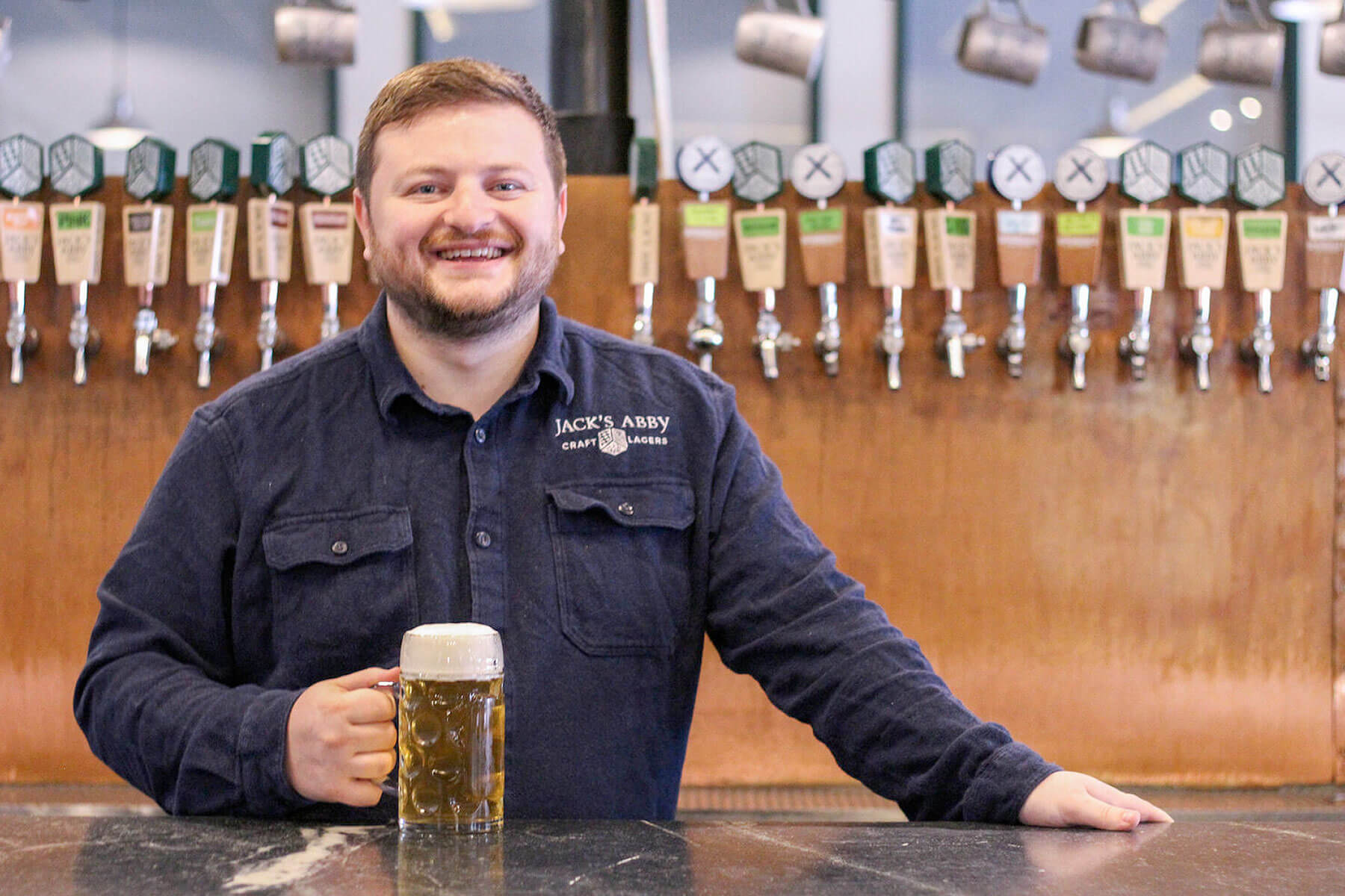 Sam Hendler, a co-founder and co-owner of Framingham, Massachusetts-based craft breweries Jack's Abby Craft Lagers and the Springdale Beer Company