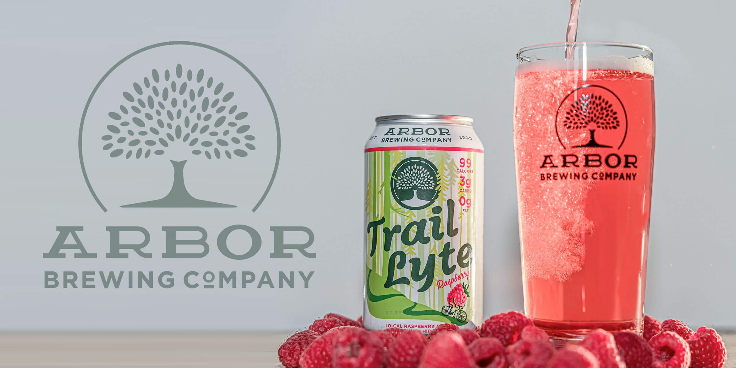 Arbor Brewing Company announced the release of its new Trail Lyte Raspberry Ale, a low calorie, craft beer targeted towards people with active lifestyles.