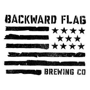 Backward Flag Brewing Logo