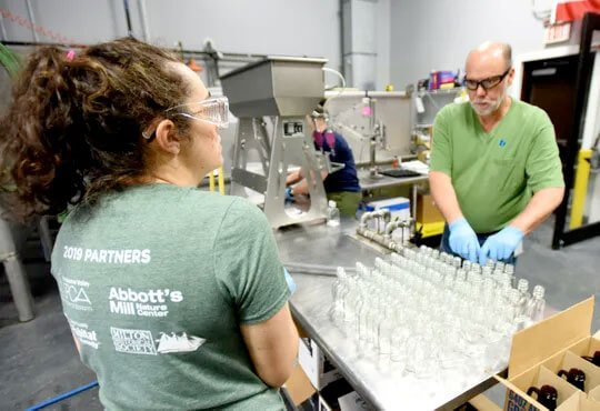 Dogfish Head Craft Brewery is switching from making beer to cranking out hand sanitizer to provide for the state of Delaware.