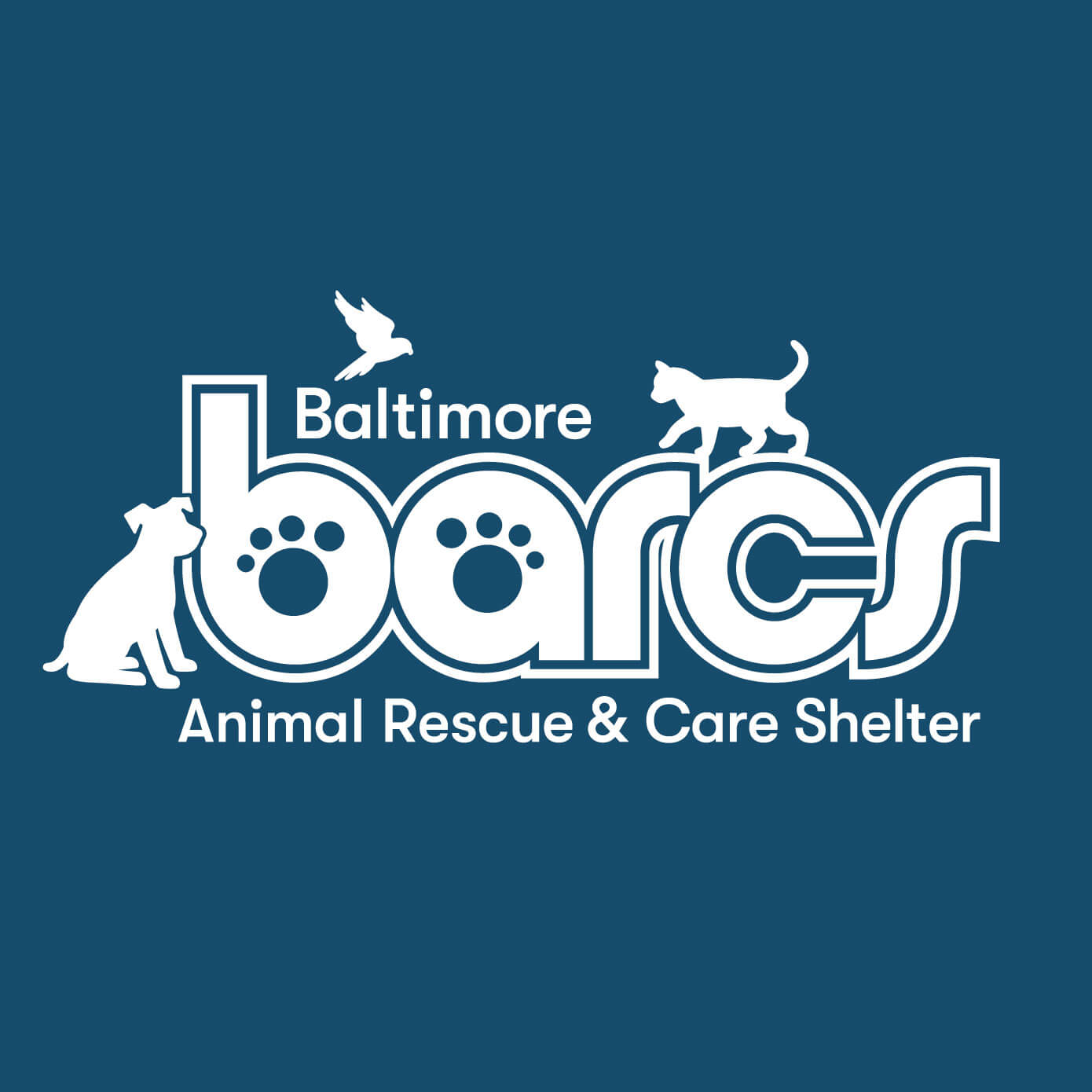 BARCS - Baltimore Animal Rescue & Care Shelter Logo