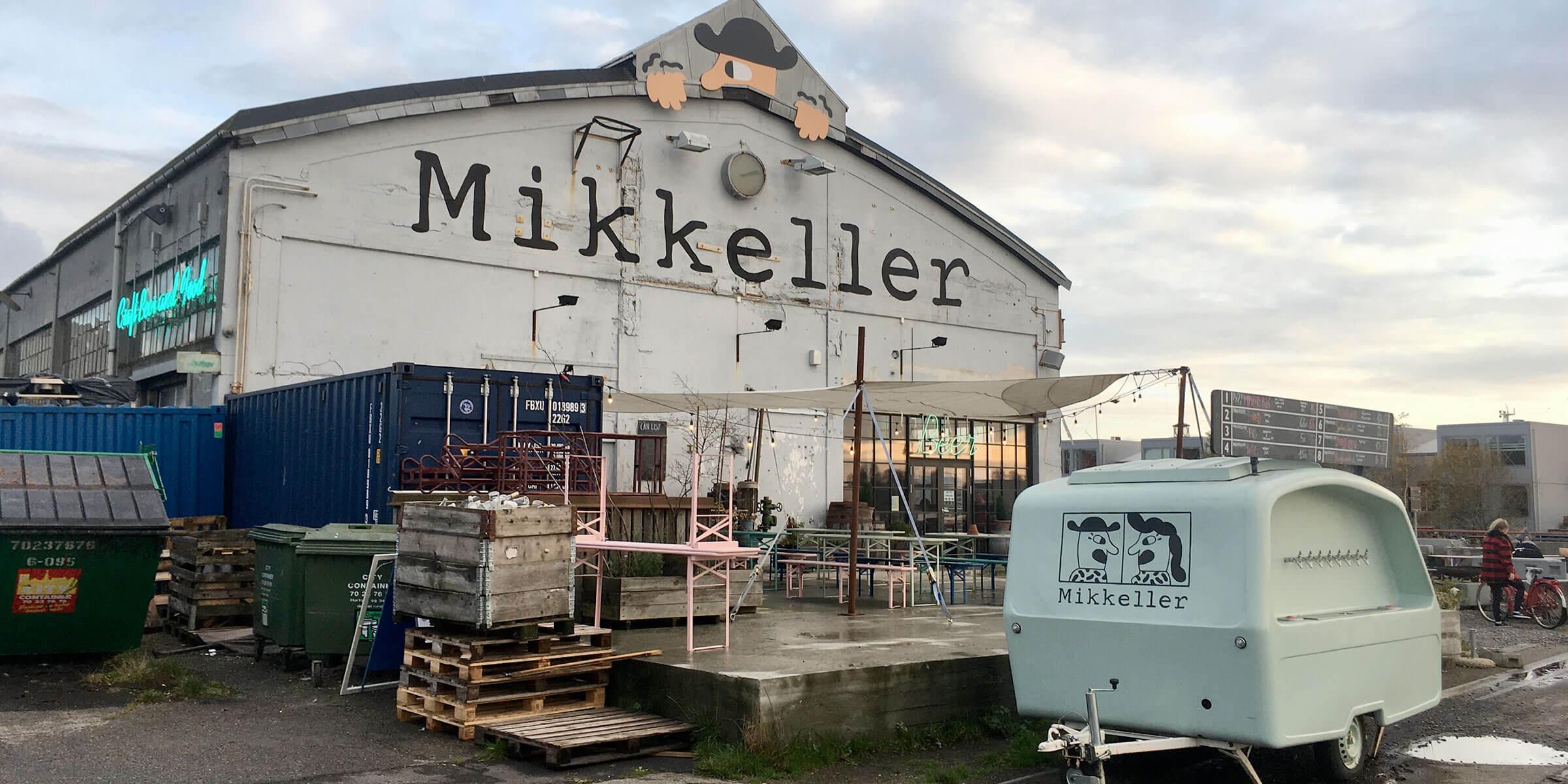 Outside the Mikkeller Headquarters in Copenhagen, Denmark