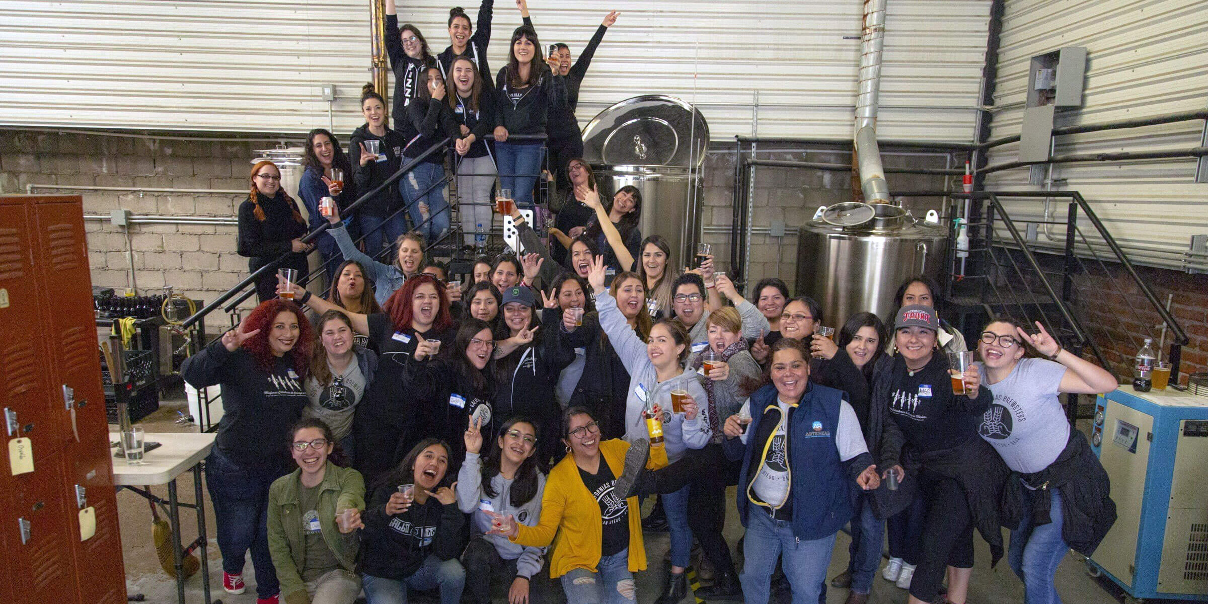 The SouthNorte Beer Co. Dos Californias Brewsters project brought together women from Mexico to brew a Brown Ale that's now available South of the Border.
