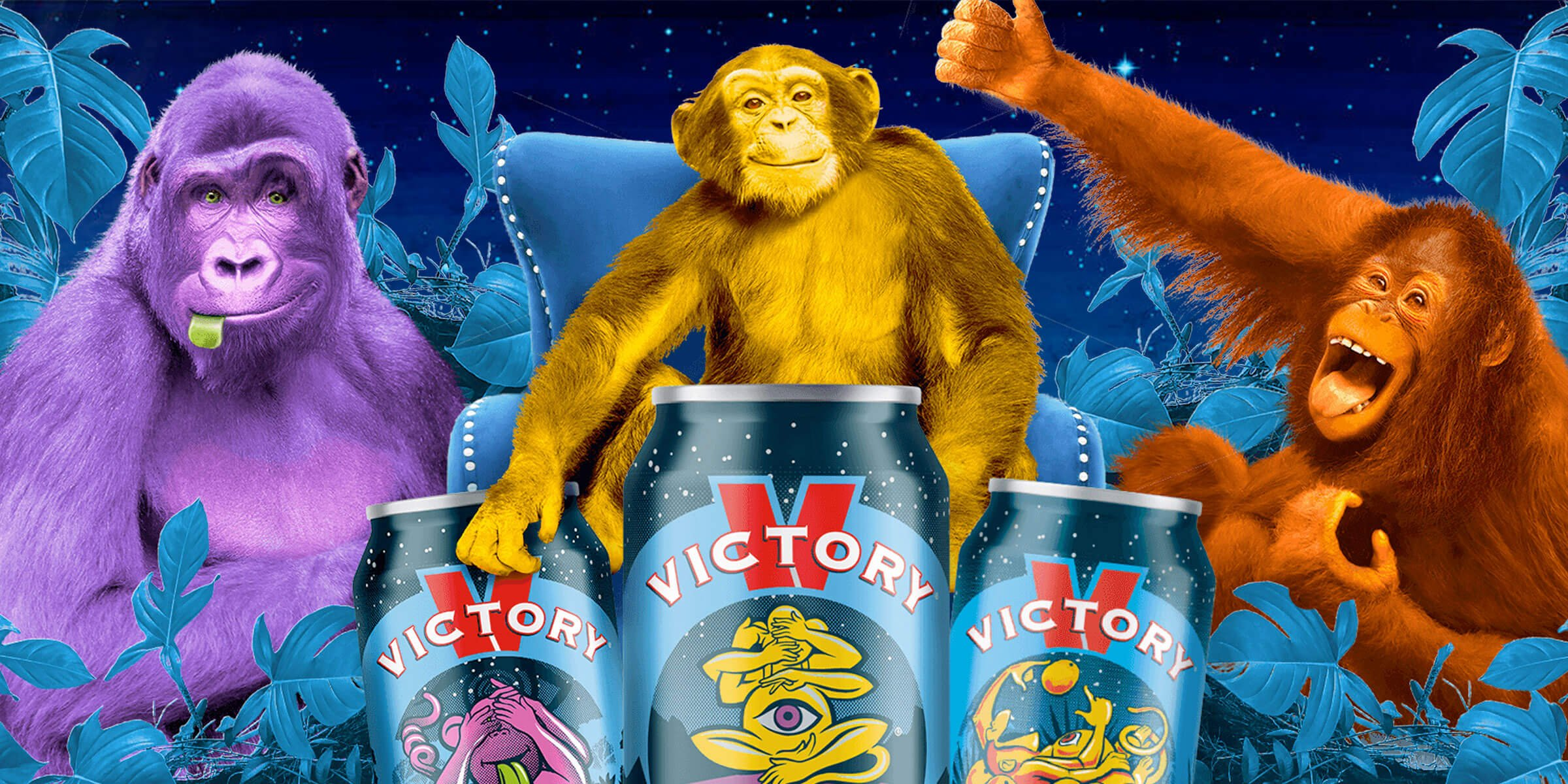 Victory Brewing Company announced its 2020 marketing campaign, bringing characters from its Monkey family of beers to life to spread laughter to its fans.
