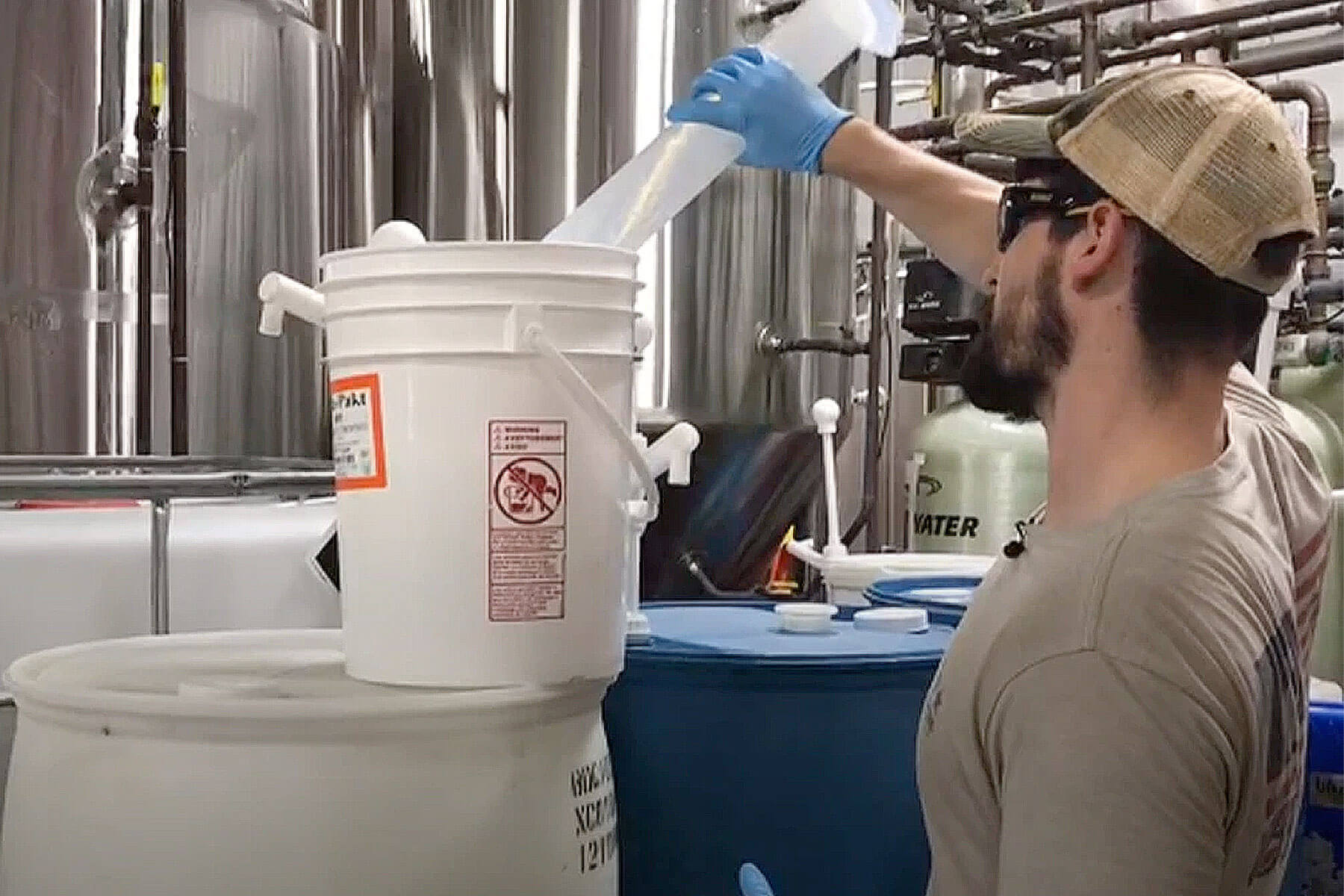 Big Storm Brewing Co. is now operating 24-hours a day, 7-days a week to help meet the nation's need for hand sanitizer due to the spread of coronavirus.