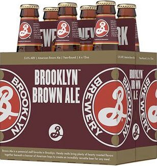 Packaging art for the Brooklyn Brown Ale by Brooklyn Brewery