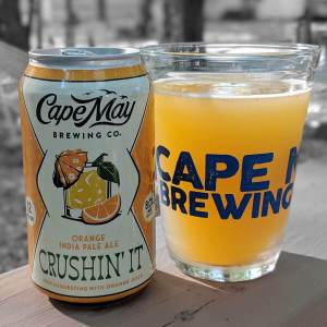 Cape May Brewing Company is thrilled to announce the release of Crushin' It, an IPA brewed with orange juice, to their release of core summer offerings.