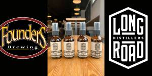 Founders Brewing Co. has partnered with Long Road Distillers in Grand Rapids to produce hand sanitizer and to directly join the cause to prevent COVID-19.