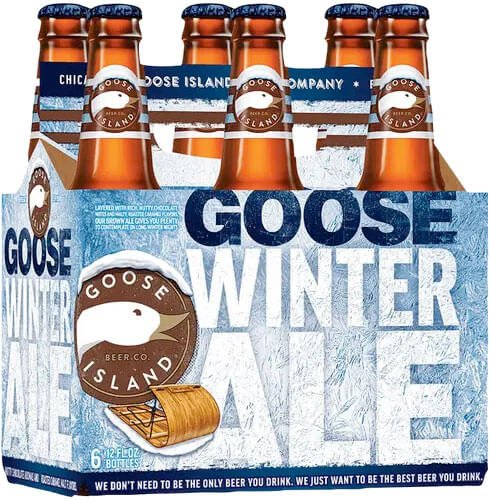 Packaging art for the Goose Island Winter Ale by Goose Island Beer Co.