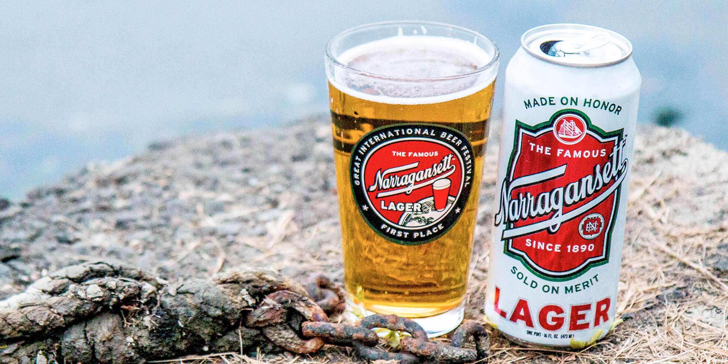 Narragansett Lager by Narragansett Brewing Company