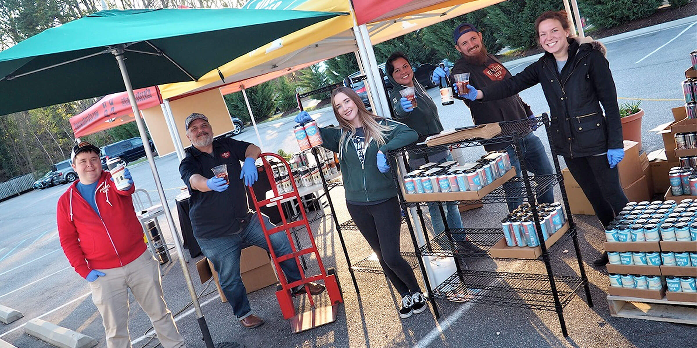 The Virginia Beer Company marked its 4th anniversary amid a rapid transition to takeaway and delivery services in response to the COVID-19 pandemic.