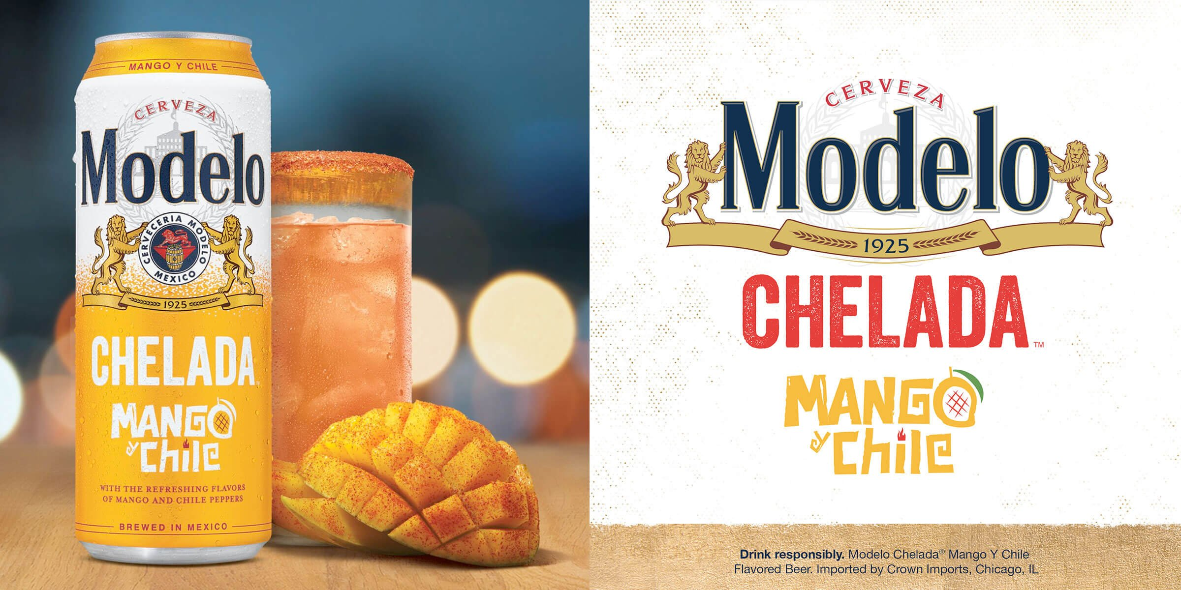 Modelo announced the Modelo Chelada Mango y Chile — the newest flavor to the No.1 Chelada brand lineup and released nationwide via Constellation Brands.