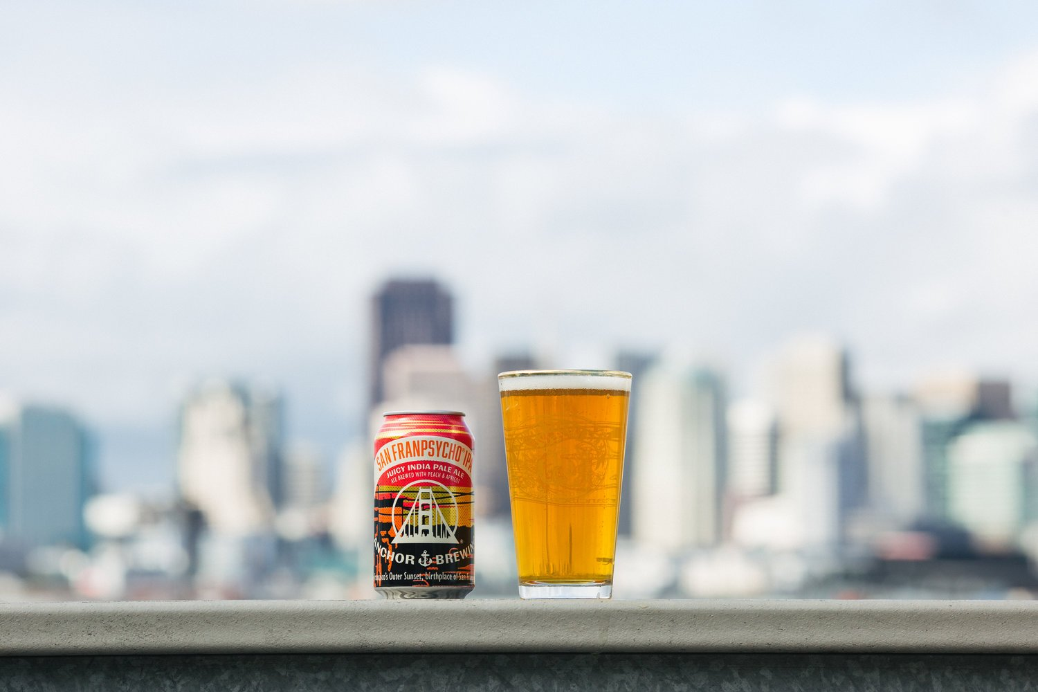 Anchor Brewing is re-releasing its award-winning San Franpsycho IPA, produced in collaboration with the apparel and lifestye brand San Franpsycho.