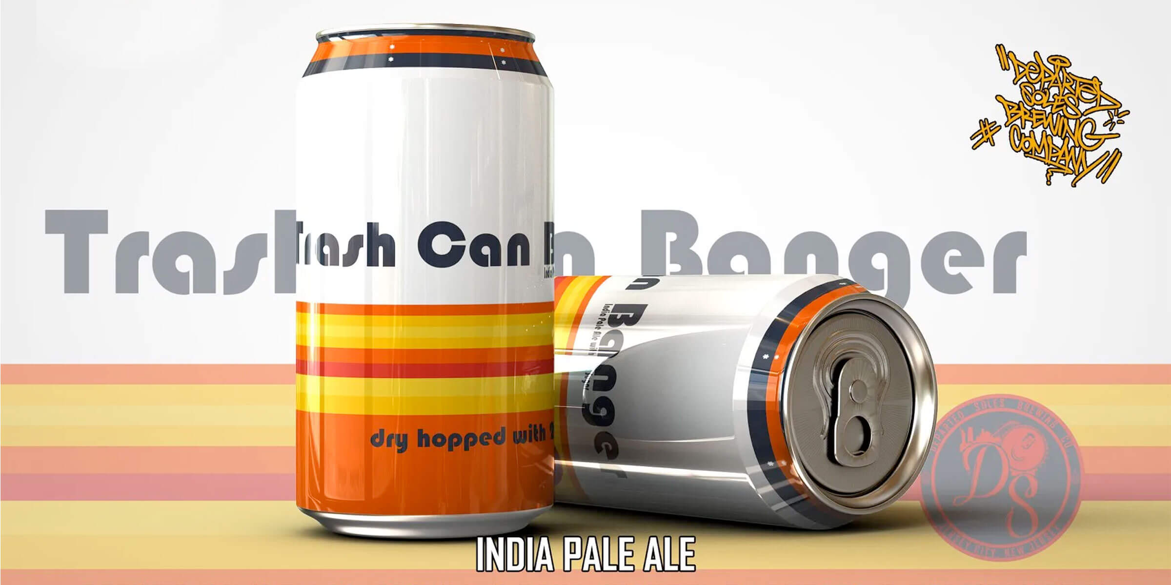 """No one likes cheaters and Jersey City, New Jersey-based Departed Soles Brewing Company calls out the Houston Astros with the release of their """"Trash Can Bangers"""" IPA."""