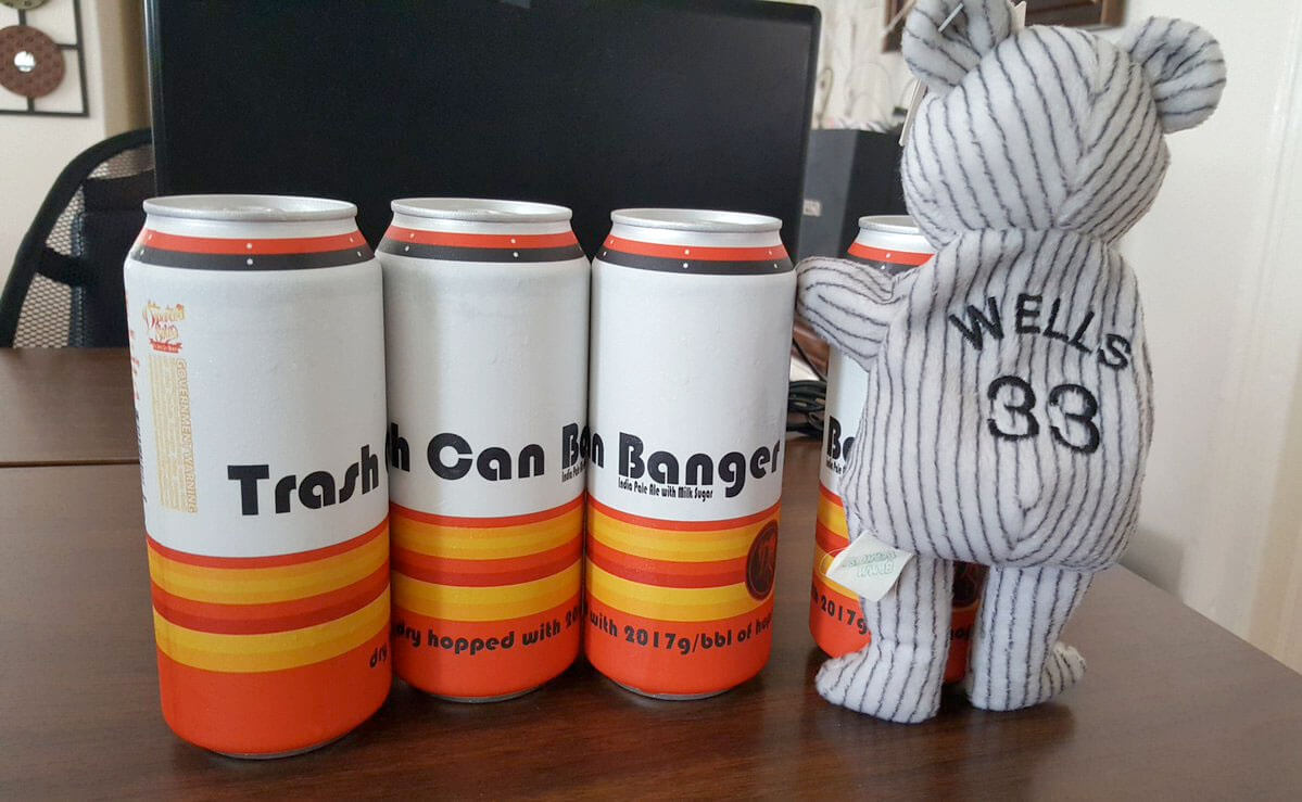 """""""I'm not a fan of cheaters,"""" Brian Kulbacki, Founder of Departed Soles Brewing Company said of the inspiration behind """"Trash Can Banger."""""""