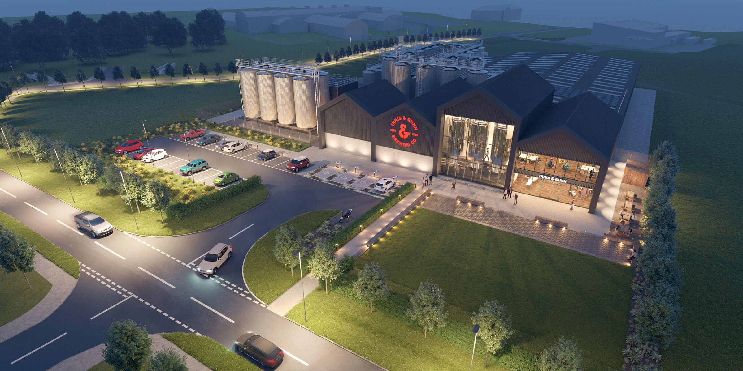 Scottish craft brewer Innis & Gunn has begun planning a major new brewery at Heriot-Watt University's Research Park to the west of Edinburgh, Scotland.