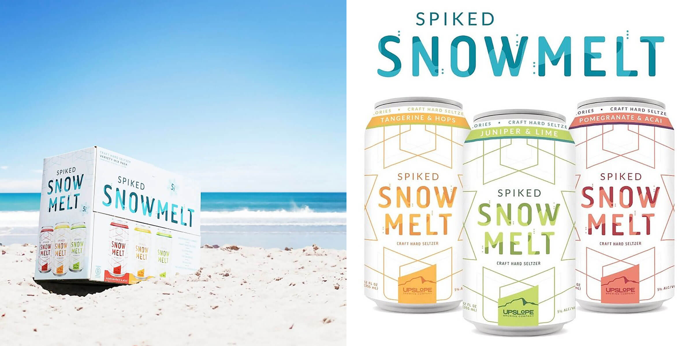 Upslope Brewing Company announced that Spiked Snowmelt, their craft hard seltzer brand, is now available in Southern California.