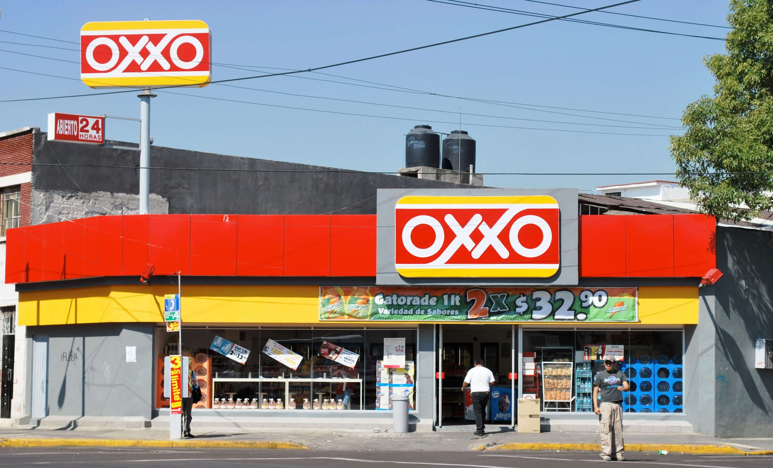 Convenience stores like this Oxxo in Mexico City may only have two weeks of beer inventory left.