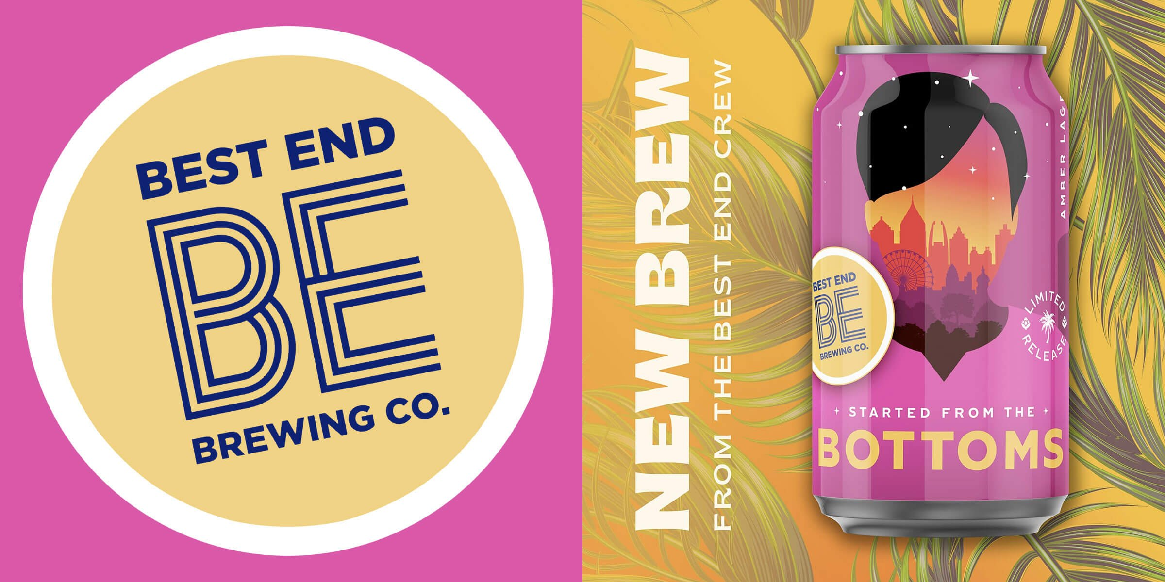 """Best End Brewing Co. released a new Vienna Lager to honor Atlanta Mayor Keisha Lance Bottoms, aptly named """"Started from the Bottoms."""""""