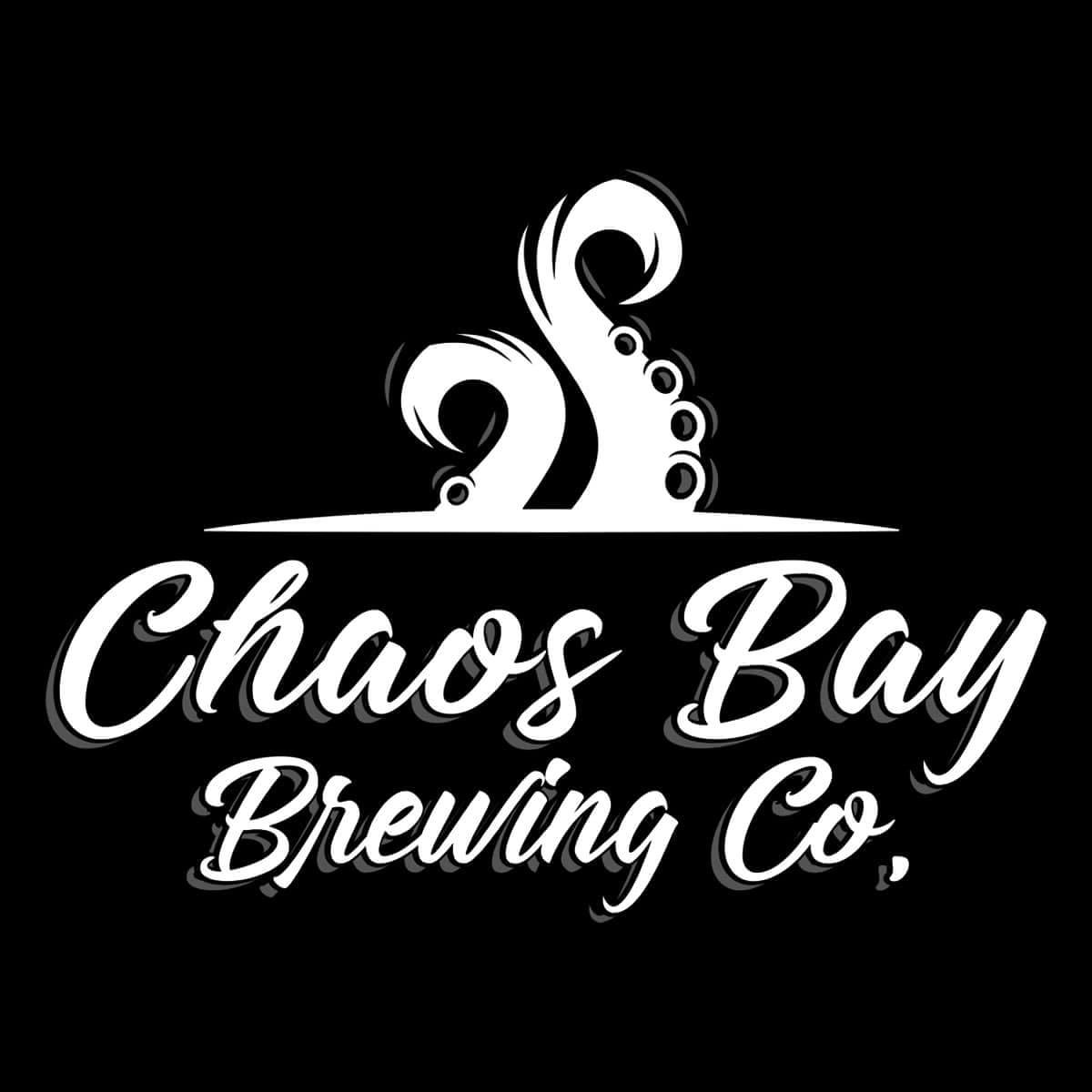 The new logo art for Chaos Bay Brewing Co.