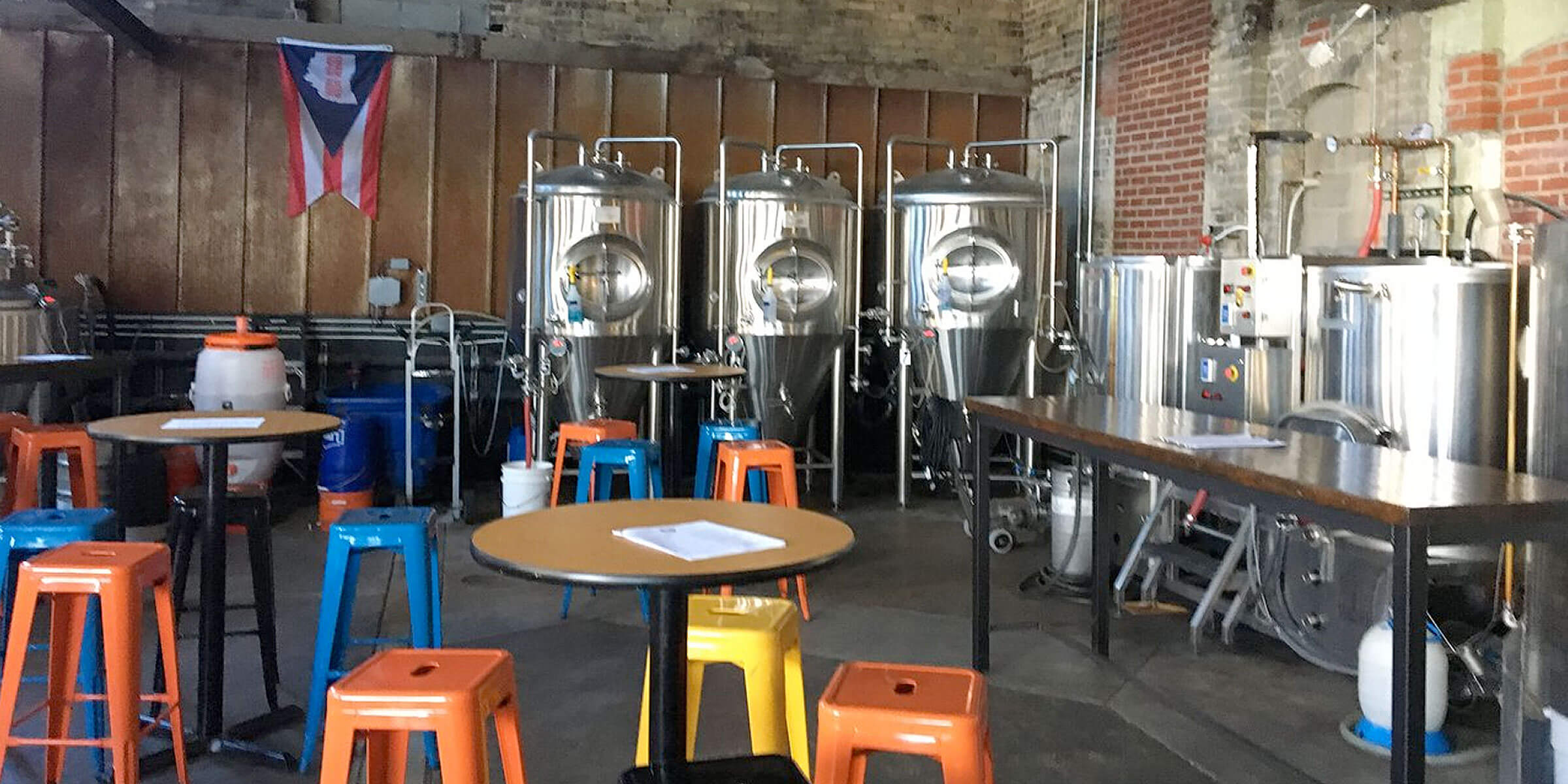 Inside the taproom at Platform Beer Co. in Columbus, Ohio
