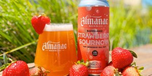 Almanac Beer Co. released its first batch of Strawberry Sournova — a bright, tart, and astronomically fruity, making it perfect for sipping on a summer day.