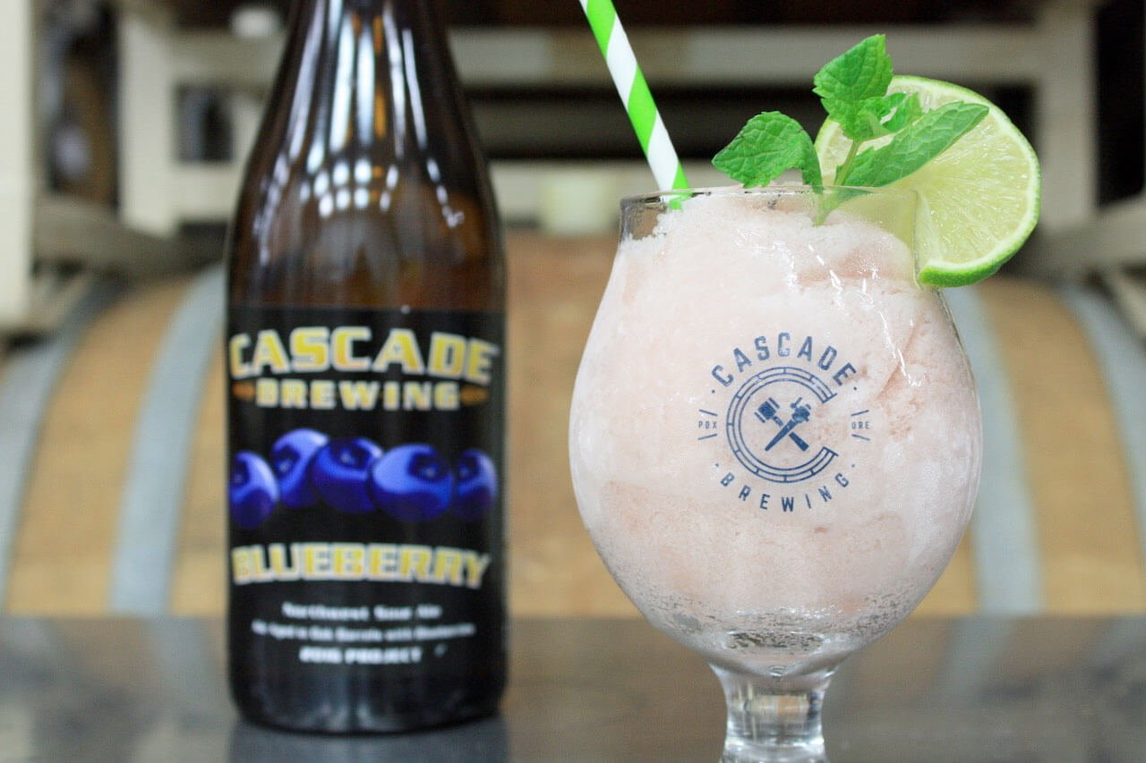 Cascade Brewing is also launching Sour Slushies, a blend of frozen sour ales and fruit juices