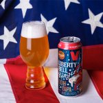 Liberty Bell Ringer is an American Double IPA by Victory Brewing Company that blends citrus and tropical fruit with bready malt and booze.