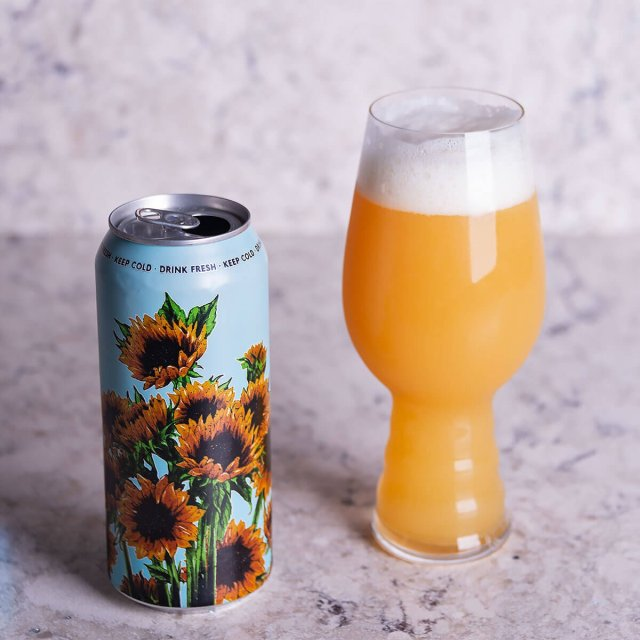 Summer is a New England-style American Double IPA by Tree House Brewing Company that features orange, mango, pineapple, and bready oat malt.