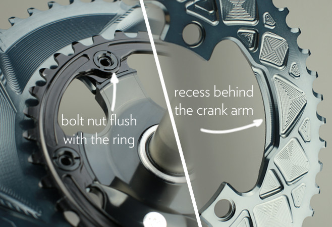 absoluteblack oval chainring mounting instruction. How to mount oval chainring to Dura-ace 9000