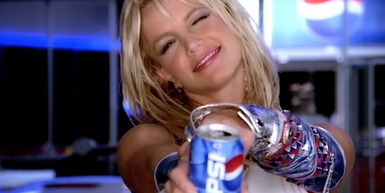 Britney Spears Reflects on her iconic Pepsi commerical!