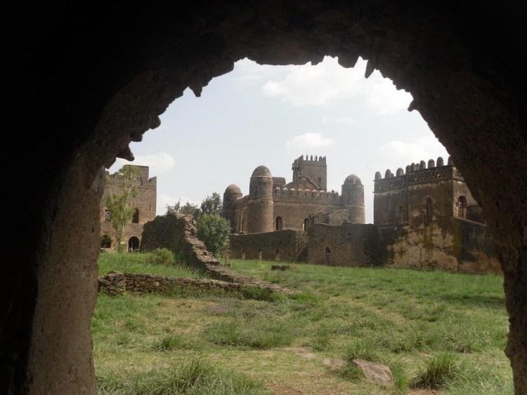 Gondar Castle in Ethiopia