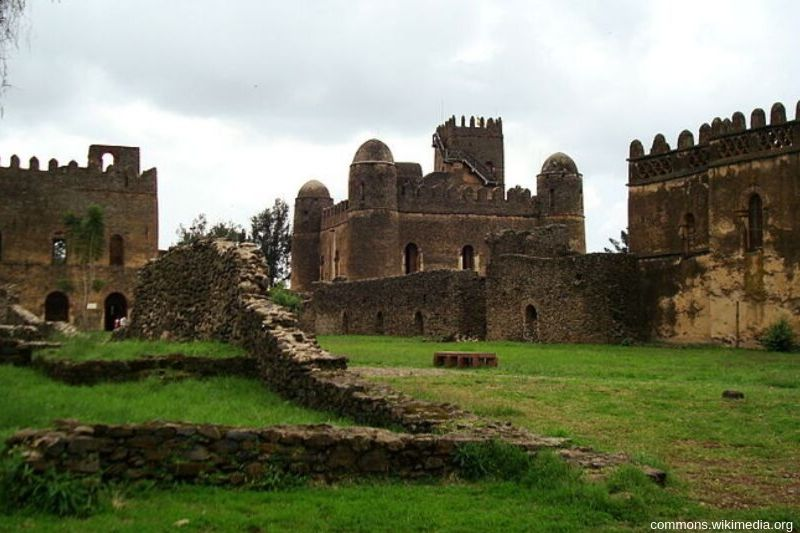 Royal Enclosure. Gondary City Sights and Activities. Absolute Ethiopia