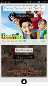 iCouchApp : A Social Network For Television Serials