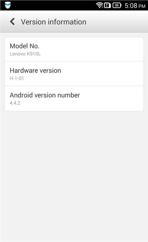 Lenovo Vibe Series Kitkat 4.4.2 Update