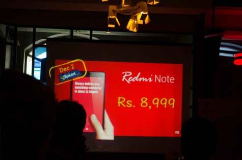 Xiaomi Redmi Note launch in Mumbai