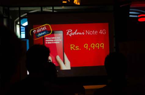 Xiaomi Redmi Note 4G launch in Mumbai