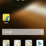 HomeScreen of EMUI in Huawei Honor 4X