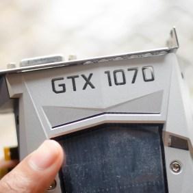 Nvidia GTX 1070 Founder's Edition