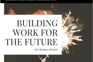 Building work for future