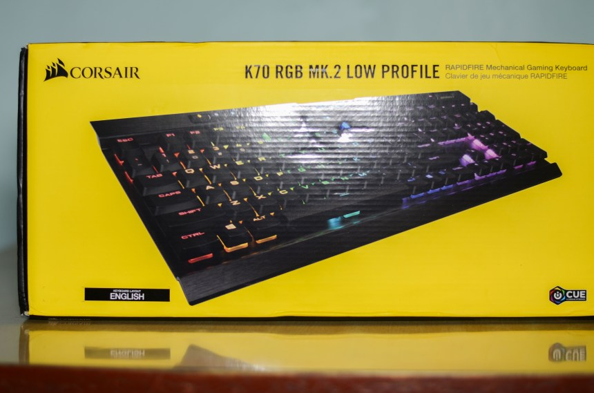Corsair K70 RGB Mk.2 Low Profile Keyboard