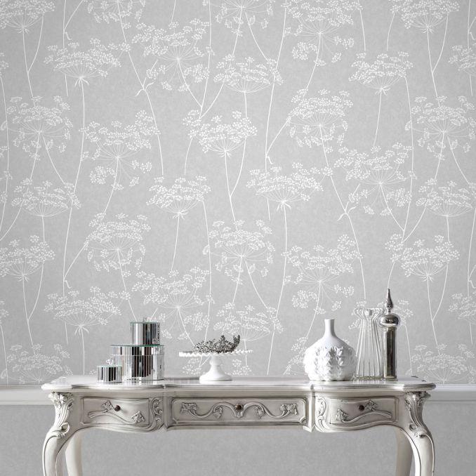Aura Grey Wallpaper