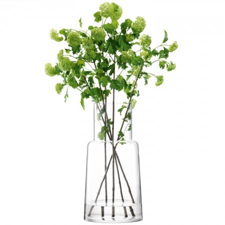 Large Chimney Vase Clear
