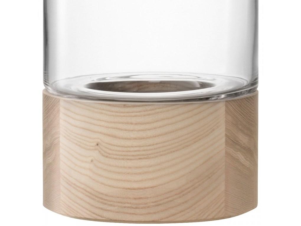 Lotta Vase or Lantern & Ash Base