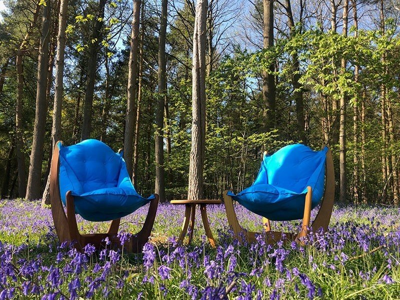 Kangaroo Recliner Set. Perfect relaxation in your garden