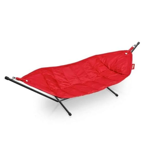 Large 2 Person Fatboy Hammock With Frame, Red
