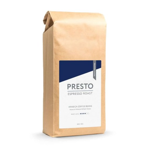 Presto House Espresso Coffee Beans, 1kg