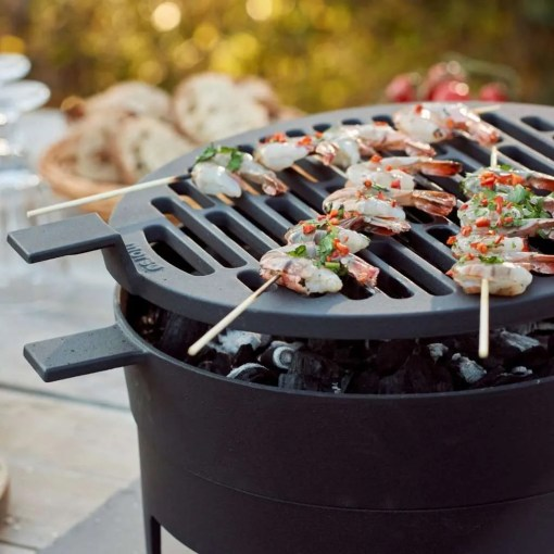 Morso Grill '71 Table BBQ and Firepit in one